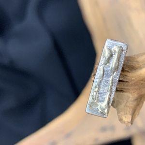 Pewter Gold Ring